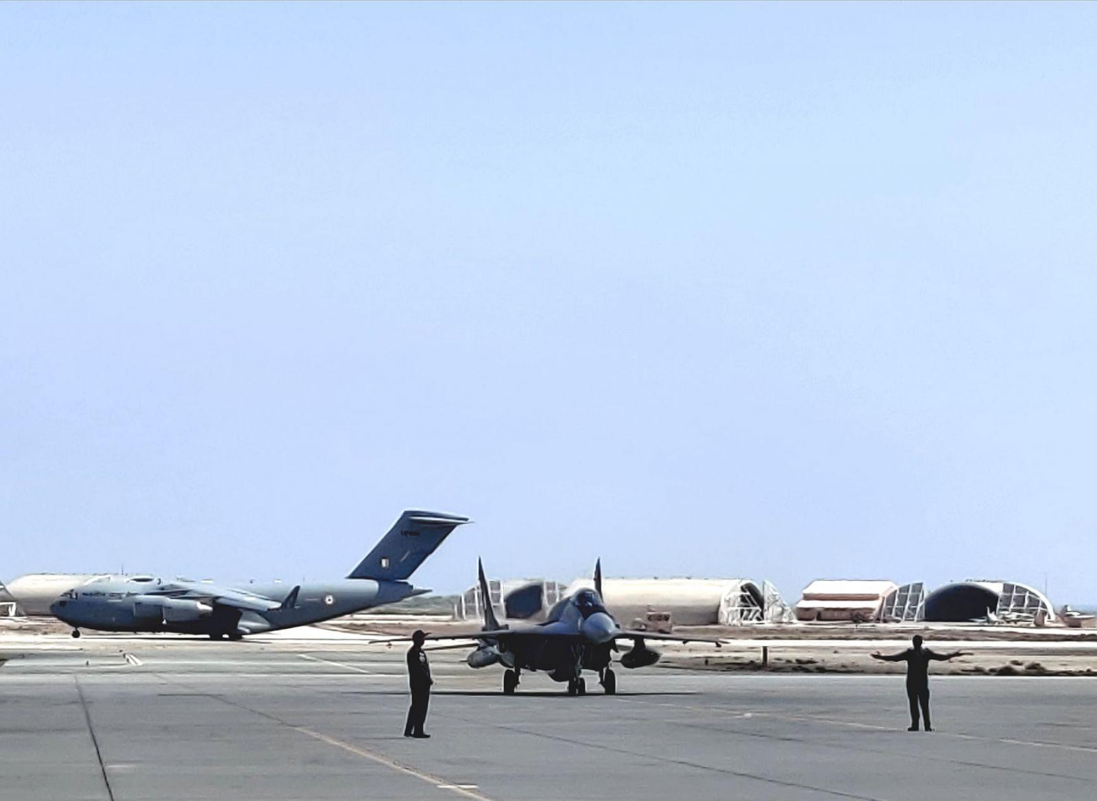 Индийски МиГ-29 в учение с ВВС на Оман