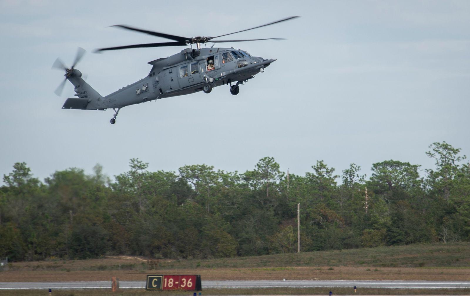 ВВС на САЩ получиха първите си нови хеликопери  HH-60W