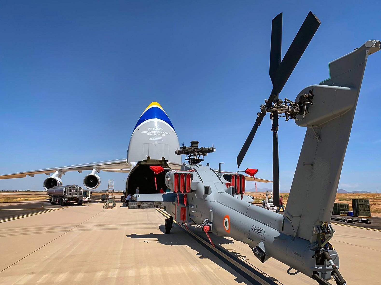 Още четири AH-64E(I) Apache са доставени на Индия, но...