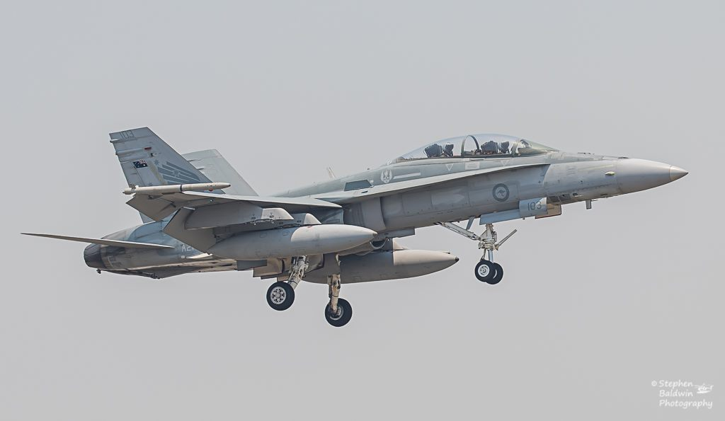 Краят на една ера във ВВС на Австралия: Последен курс за приучване на  F/A-18 Hornet