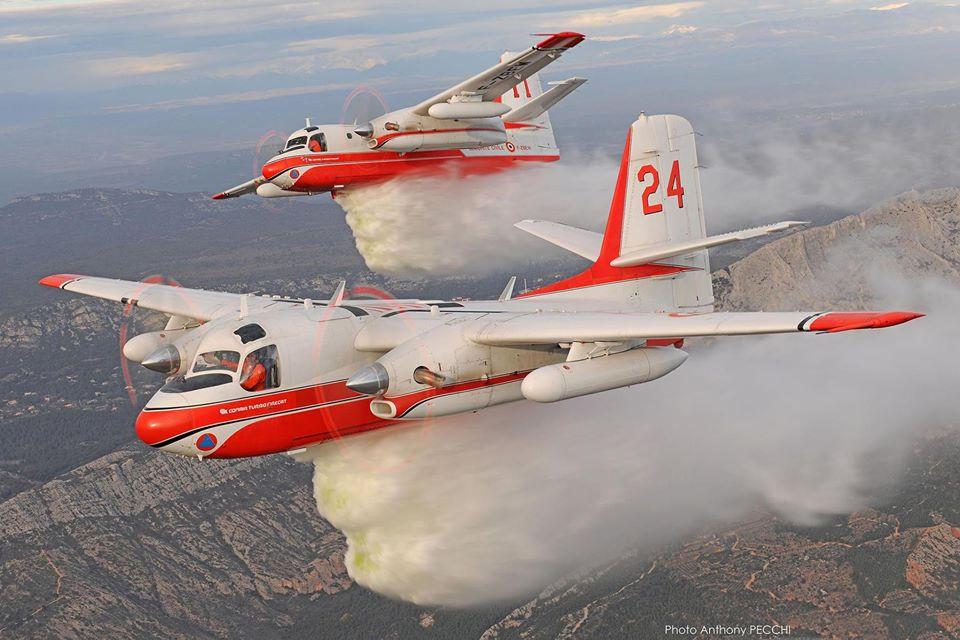 Френските самолети за борба с пожари Turbo Firecat са спрени от полети