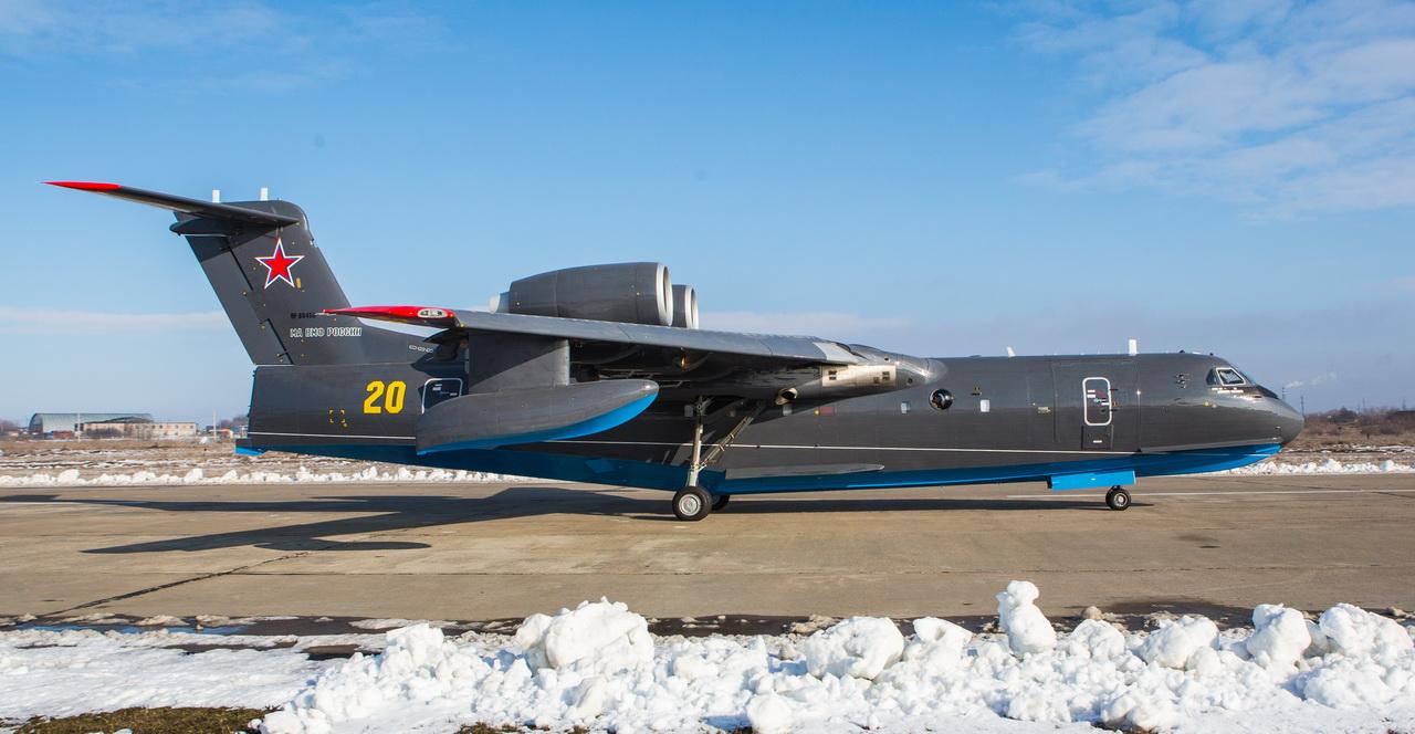 Бе-200 вече и в Морската авиация на руския ВМФ