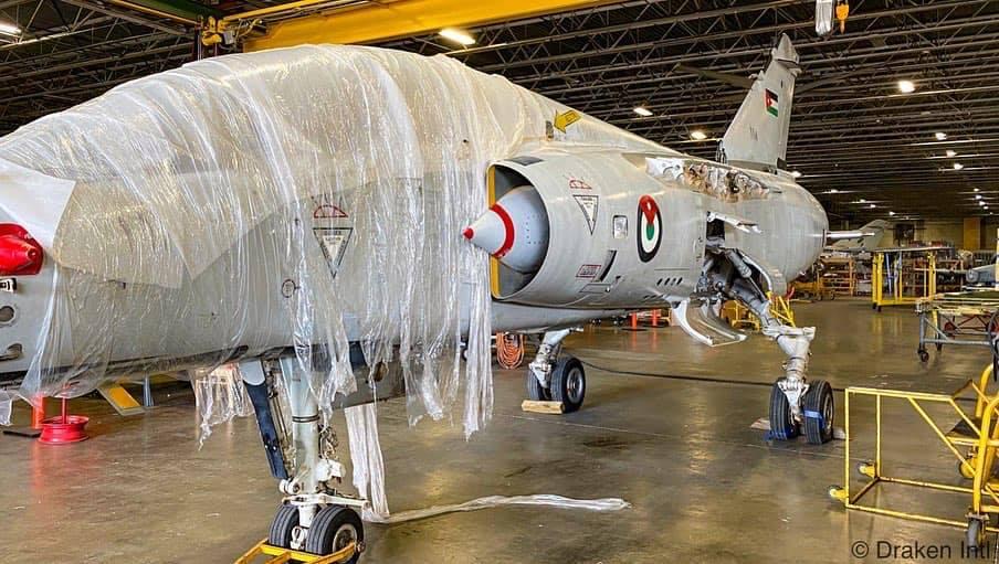 Draken International получи първия си 'йордански' изтребител Mirage F1