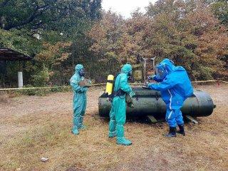 Полевата подготовка на офицери, сержанти и войници – специалисти по ЯХБЗ от ВВС