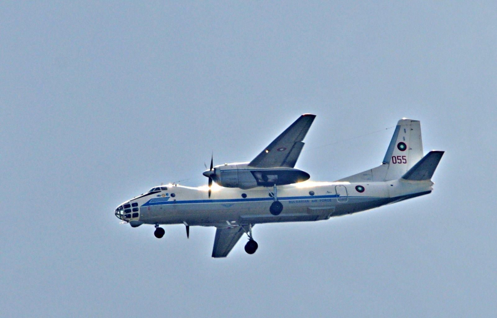 Фотофакт: Ан-30 над Пловдив