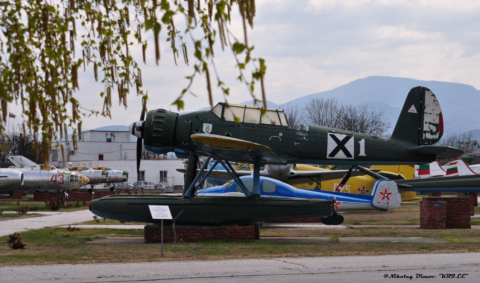 Arado Ar 196 / A3 at Bulgarian Aviation Museum