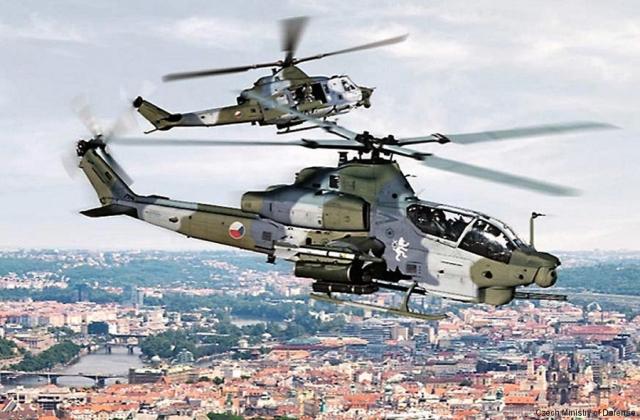 Bell подновява производството на вертолети UH-1Y за чешките ВВС
