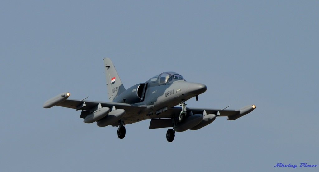 Photo feature: Two Iraqi Air Force L-159 Alca aircraft made interim stop over in Plovdiv