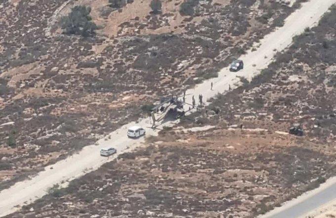 Аварийно кацане на израелски вертолет Apache