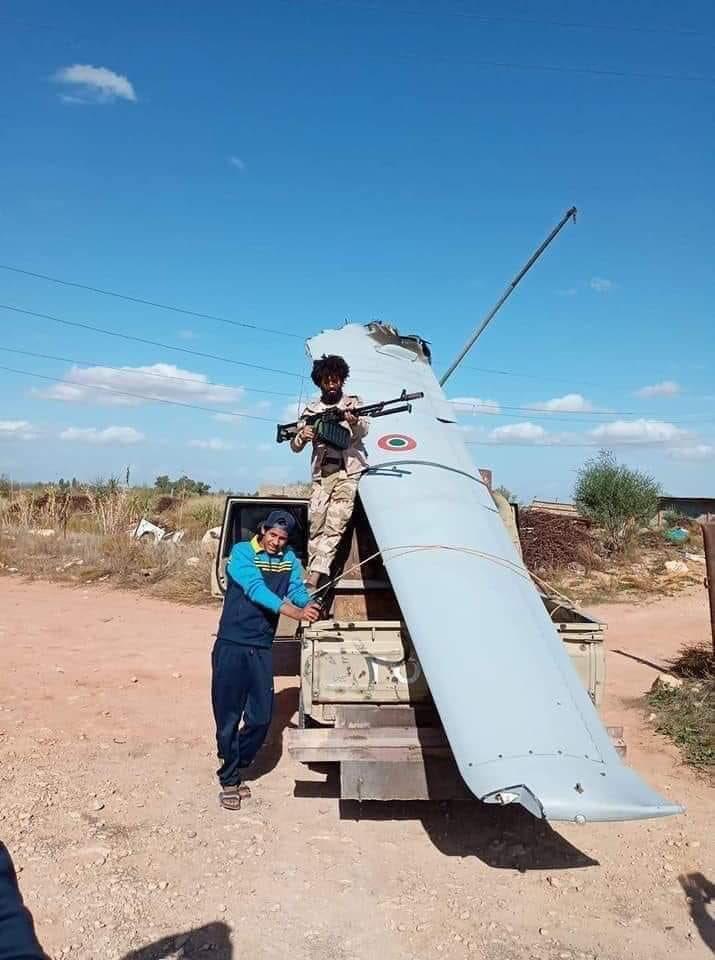 Италиански разузнавателен БЛА MQ-9A Predator B се е разбил в Либия