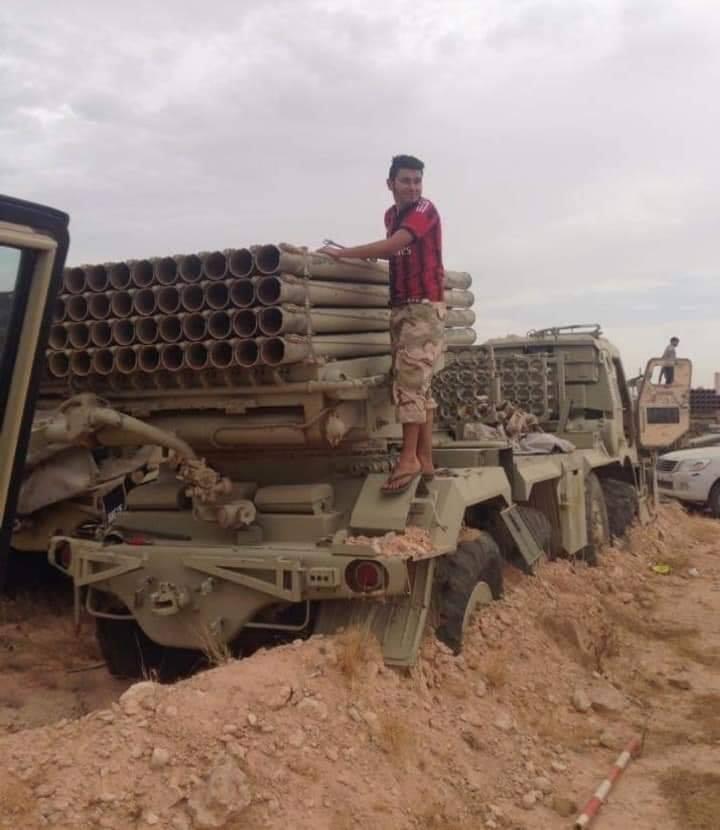 Редки образци военна техника са открити в изоставената от ЛНА авиобаза Ал Ватия