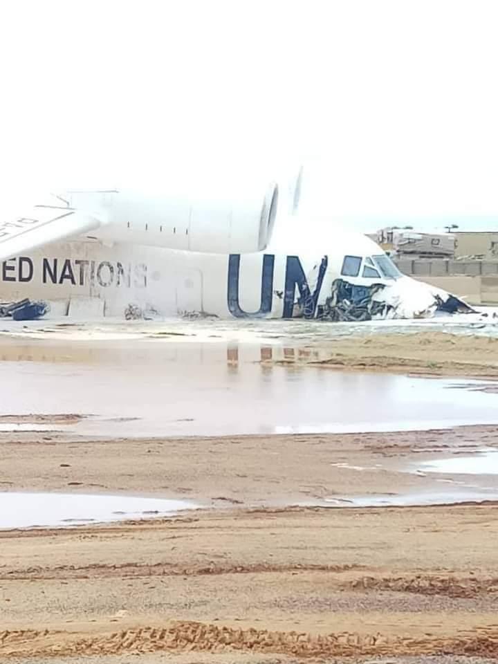 Аварийно кацане на Ан-72 в Мали