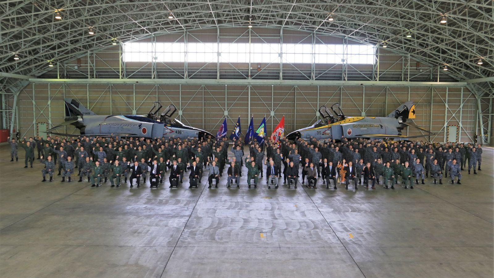 Японските ВВС казаха сбогом на последните останали изтребители F-4EJ Phantom