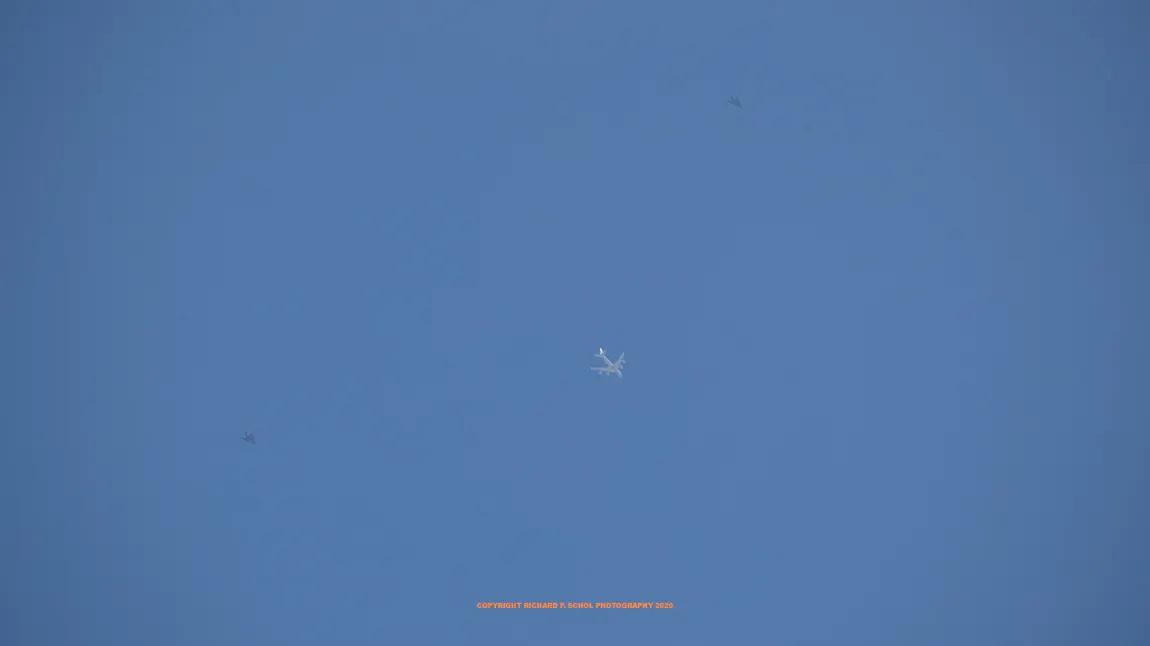 Отново полети с F-117, този път над Лос Анджелис