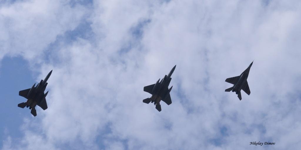 ПЪРВО В ПАН.БГ: АМЕРИКАНСКИТЕ ВВС С F-15 КАЦНАХА, ЗА ДА ОХРАНЯВАТ НЕБЕТО НИ СЪВМЕСТНО - ВИДЕО И СНИМКИ
