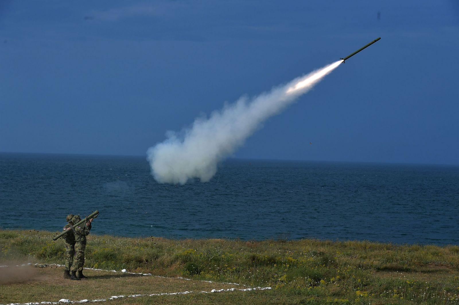 """Първи стрелби на сръбската ПВО на учението """"Шабла-2019"""""""