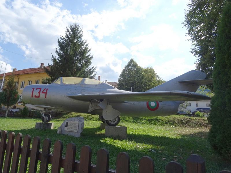 В памет на военния пилот майор Марин Стефанов...