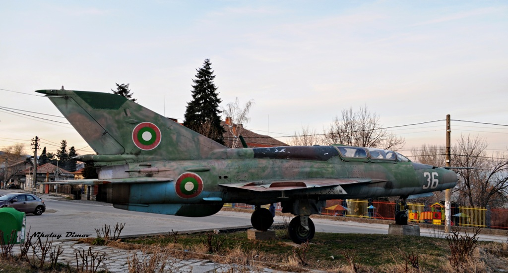 """Поредица """"Последен пристан"""" (2) :  МиГ-21УМ борд """"36"""" – село Семчиново"""