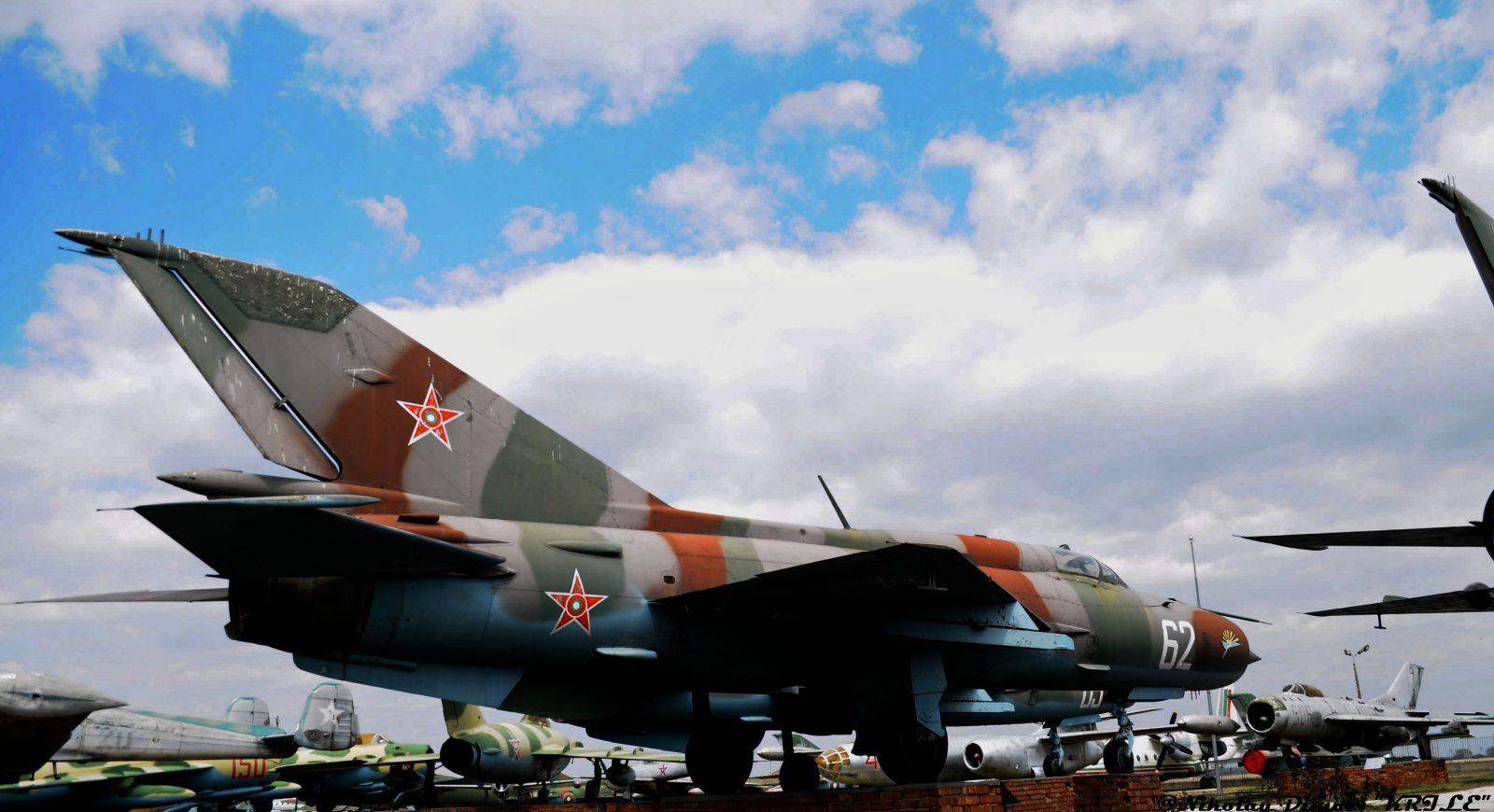 """Изтребителите на българските ВВС: МиГ-21ПФМ борд """"62 """""""