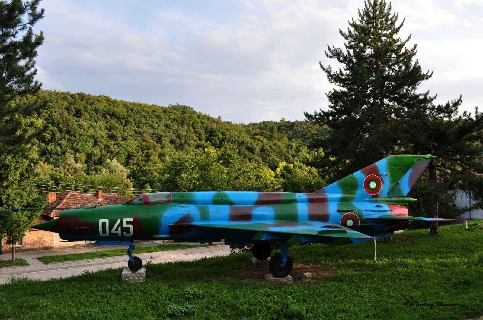 """Последният пристан за Миг-21бис борд """"045"""" (снимки)"""