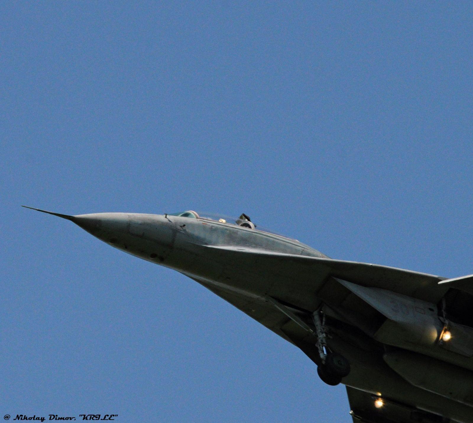"""Последен ден от стрелбите с МиГ-29 от ВВС на България и Сърбия на полигон """"Шабла"""" (фотогалерия – 1 част)"""