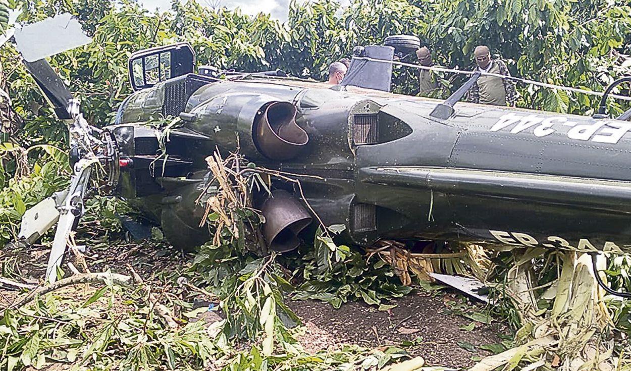 Военен хеликоптер А109 се е разбил в Перу