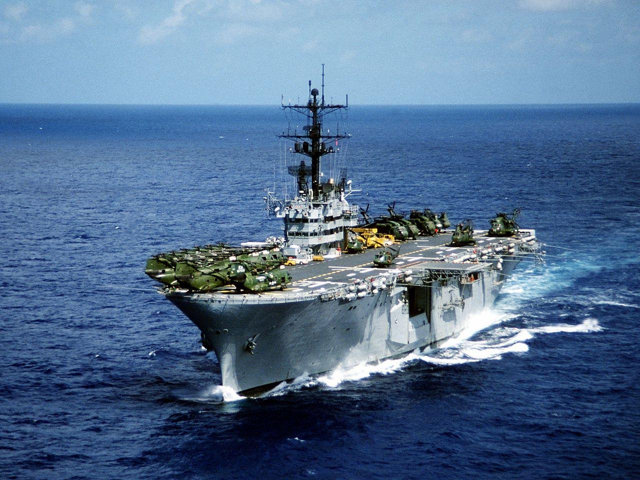 Две оперативни групи на Морската пехота на САЩ са в близост до Европа