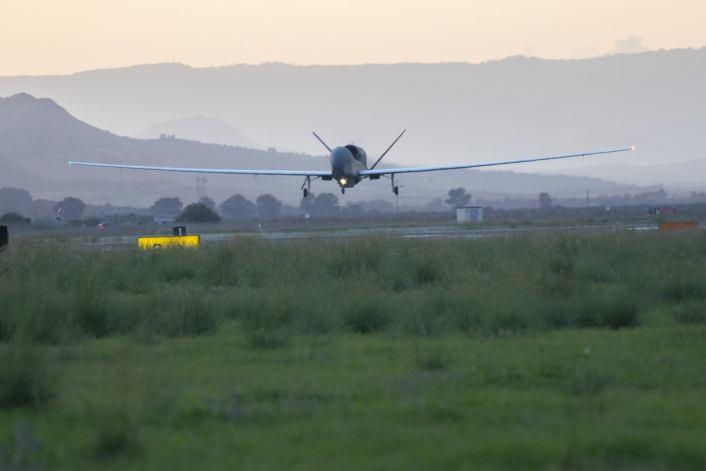 Първият разузнавателен БЛА RQ-4D Global Hawk на НАТО вече е в Европа