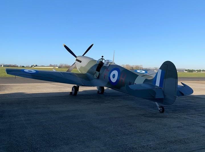 Tака го правят гърците: Първи полет на възстановен гръцки изтребител Spitfire