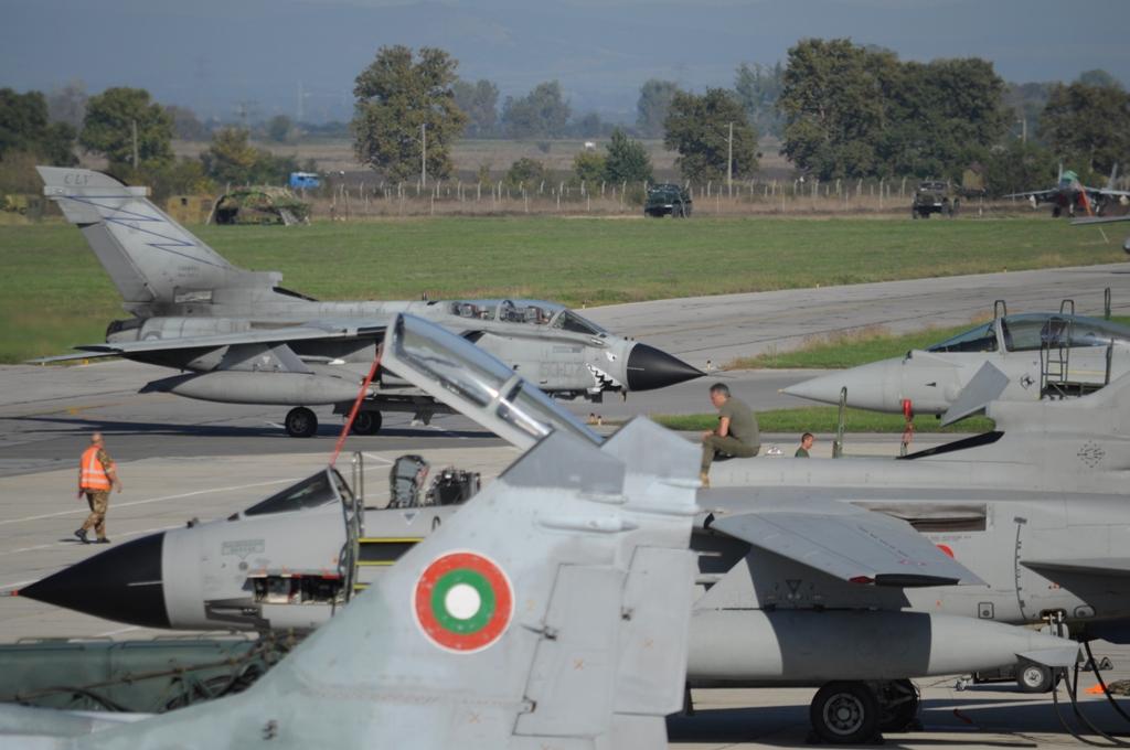 Участие на българските ВВС в учения през 2018