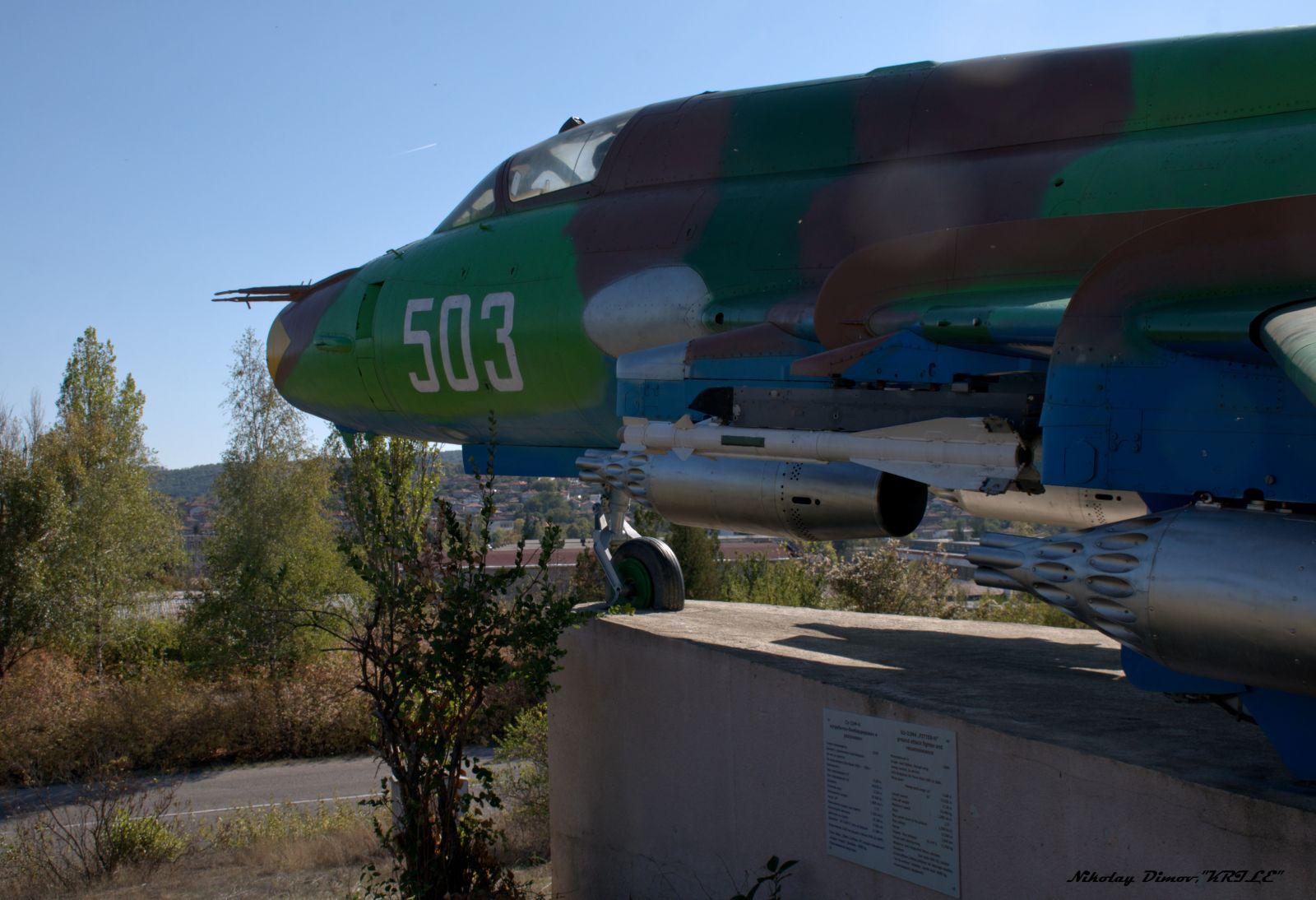 """""""Последен пристан"""" (част 29) :  Су-22М4 борд """"503"""" край град Омуртаг (фотогалерия)"""
