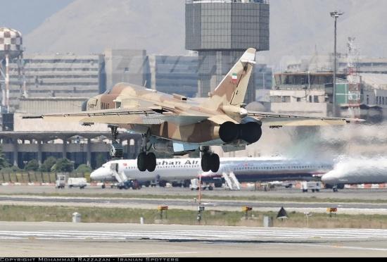 Су-24МК на иранските ВВС