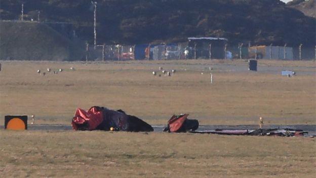 """Има загинал при катастрофата с Hawk T1 от пилотажната група """"Red Arrows"""""""