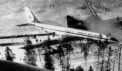 Корейски В707, улучен от ракета, успява да се приземи