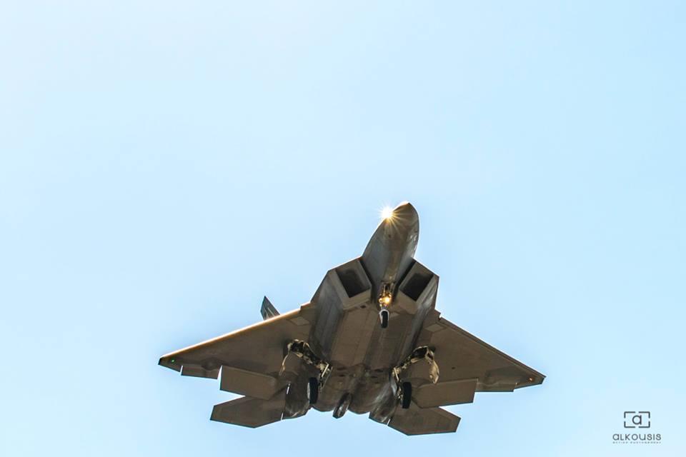 Изтребители F-22 Raptor и в Гърция