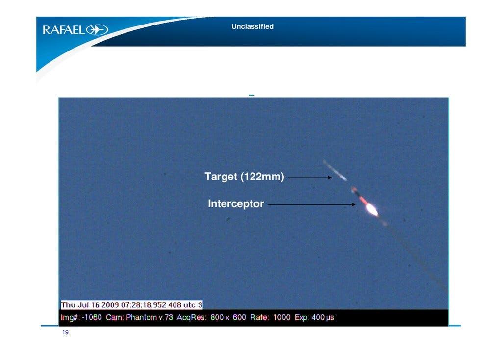 Секретна част от ракетата Tamir е паднала в Ивицата Газа