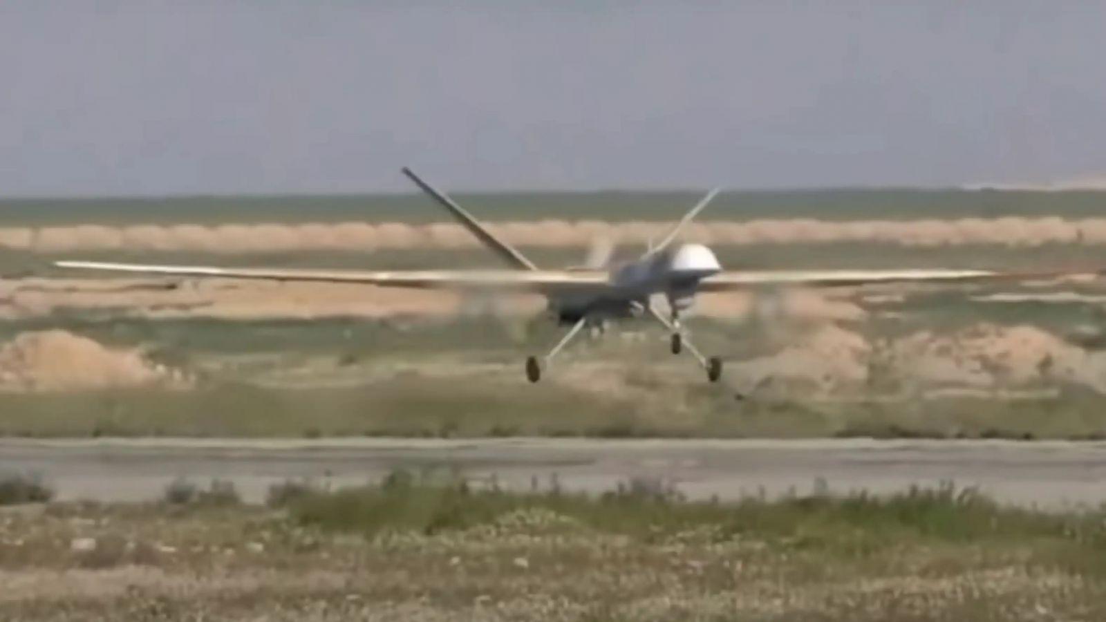 """Руски ударен БЛА """"Орион"""" нанася удари по ИД в Сирия (видео и снимки)"""