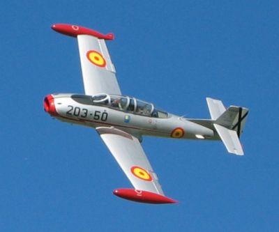 реактивен самолет HA-200D Saeta