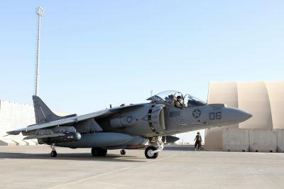изтребител AV-8B Harrier