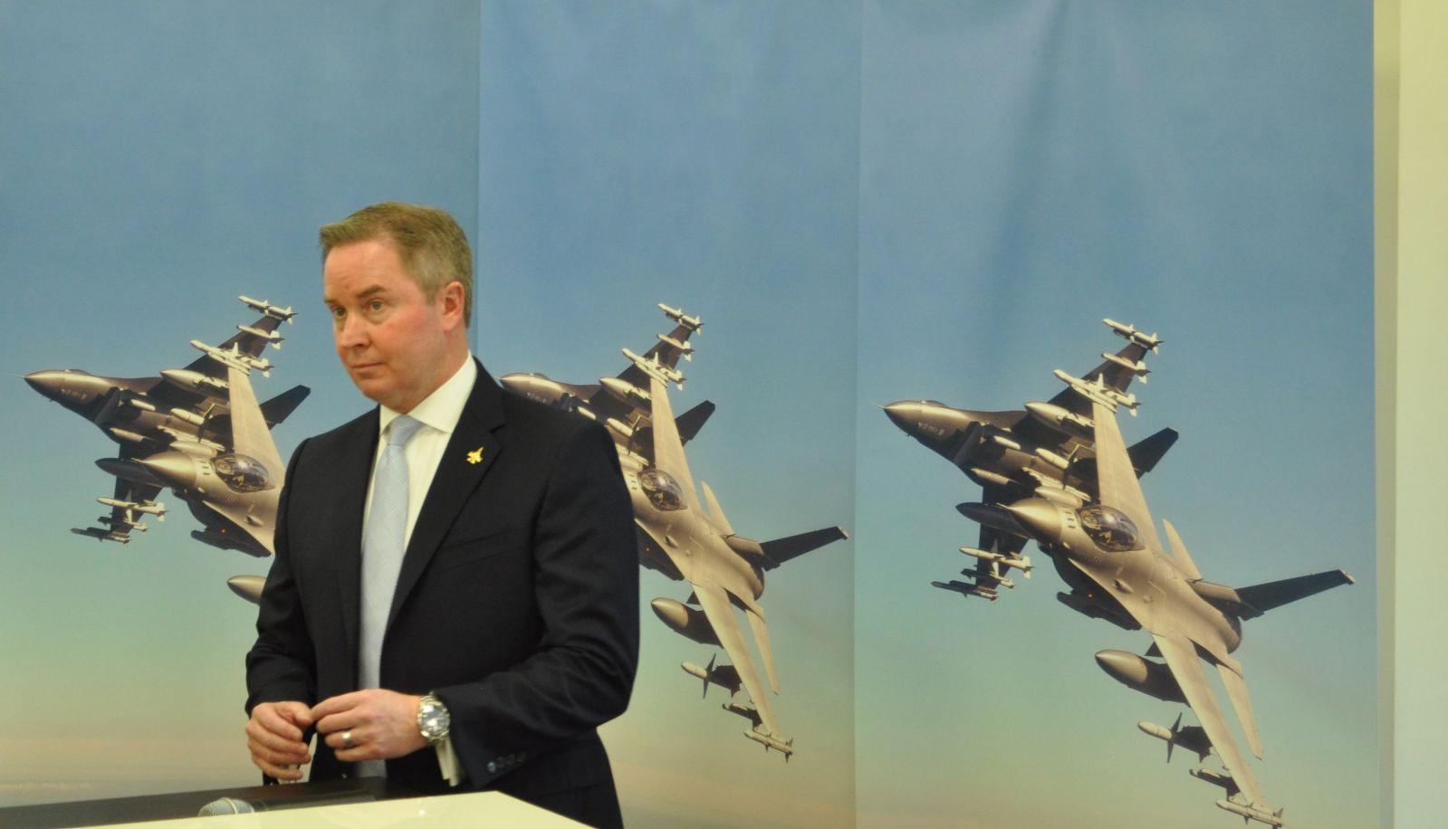 Lockheed Martin представи  изтребителя F-16 Block 70 в Пловдив
