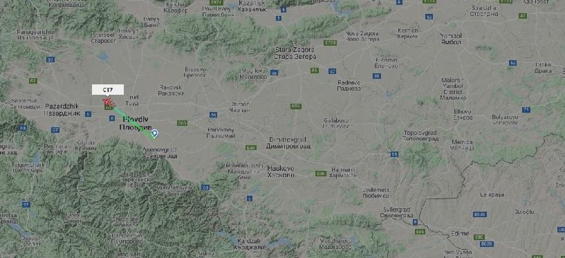 Преди минути от летище Пловдив отлетя за Афганистан 40-ят  контингент от ВС на РБ