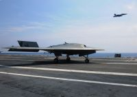 X-47B и F/A-18