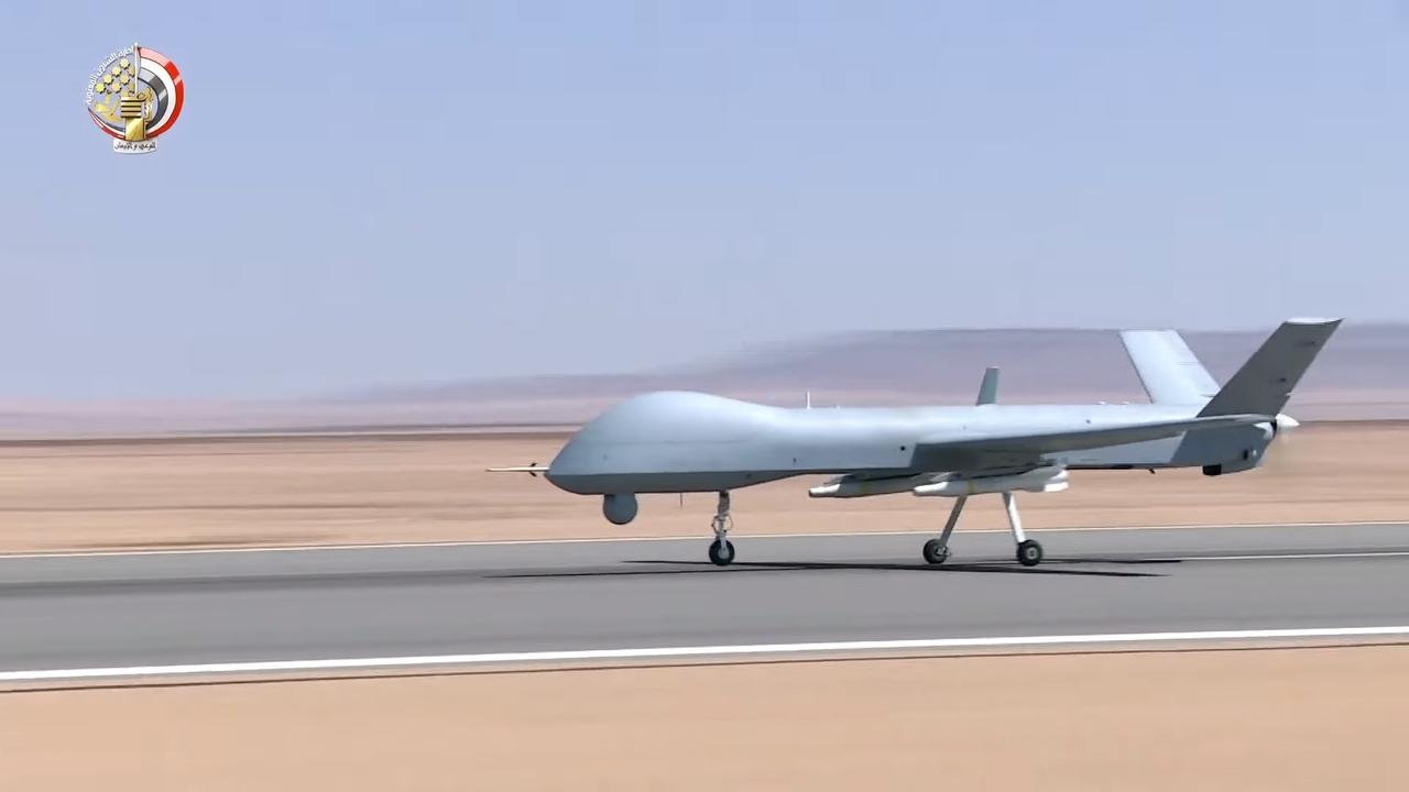 Китайският ударен БЛА Wing Loong е на въоръжение в Египет