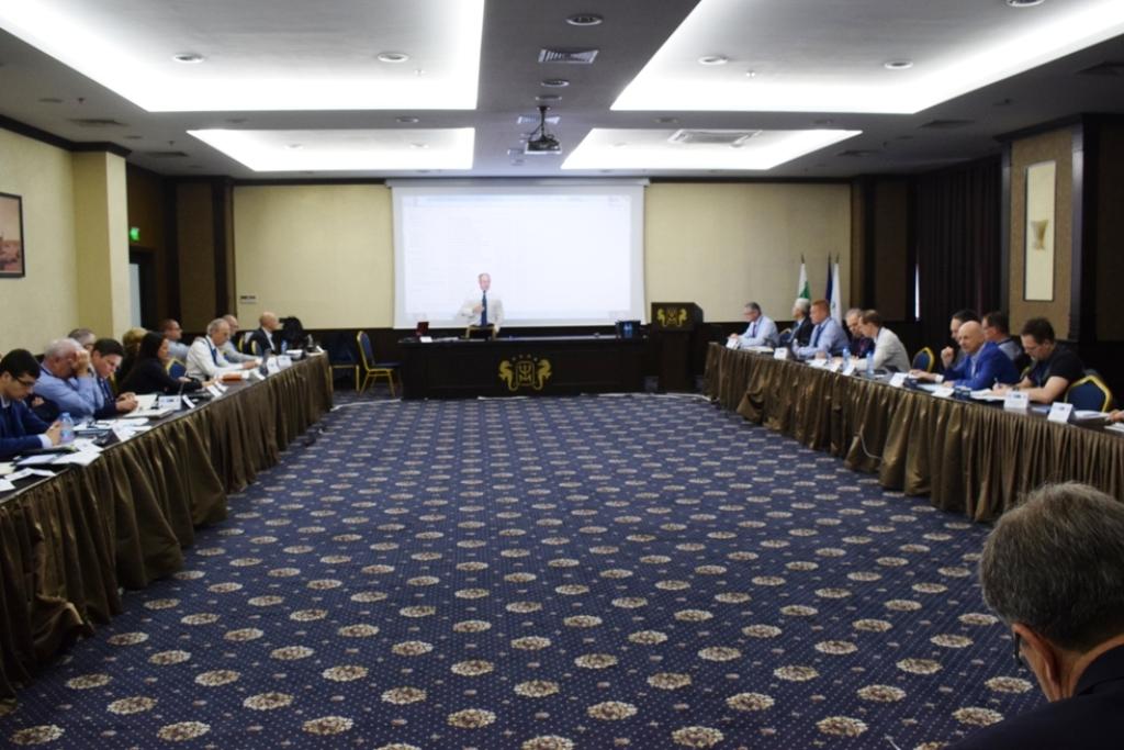 Заседание на група на НАТО във Варна (ГОЛЯМА ЗАСЕДАТЕЛНА ГАЛЕРИЯ)