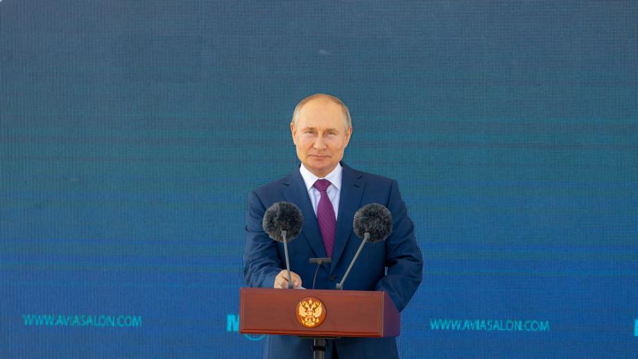 """МАКС 2021 - Резултати от първия ден - лекия изтребител """"Шахмат"""", ЛМС-901 """"Байкал"""", съвещание на президента Путин за гражданското авиостроене"""