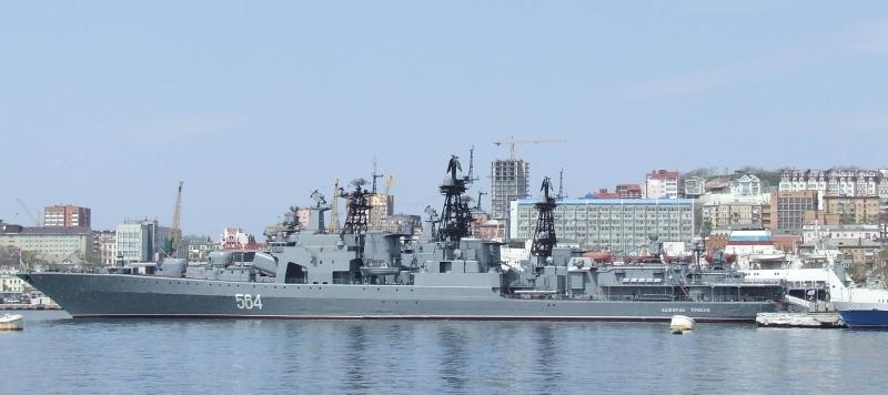 Кораби от руския Тихоокеанския флот проведоха стрелби в Японско море