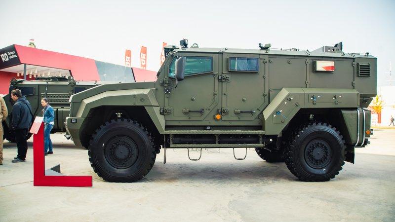 IDEX2021 - Русия представи три машини тип MRAP