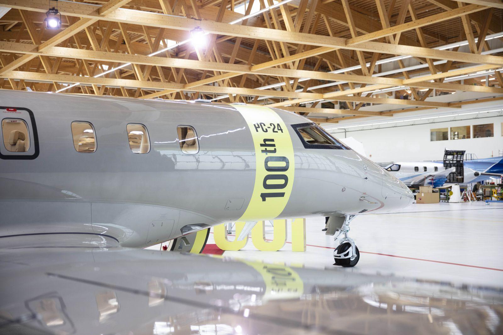 Бизнес джета PC-24 - 100 доставени самолета от 2018 г. досега (ЕКСКЛУЗИВНА ГАЛЕРИЯ)