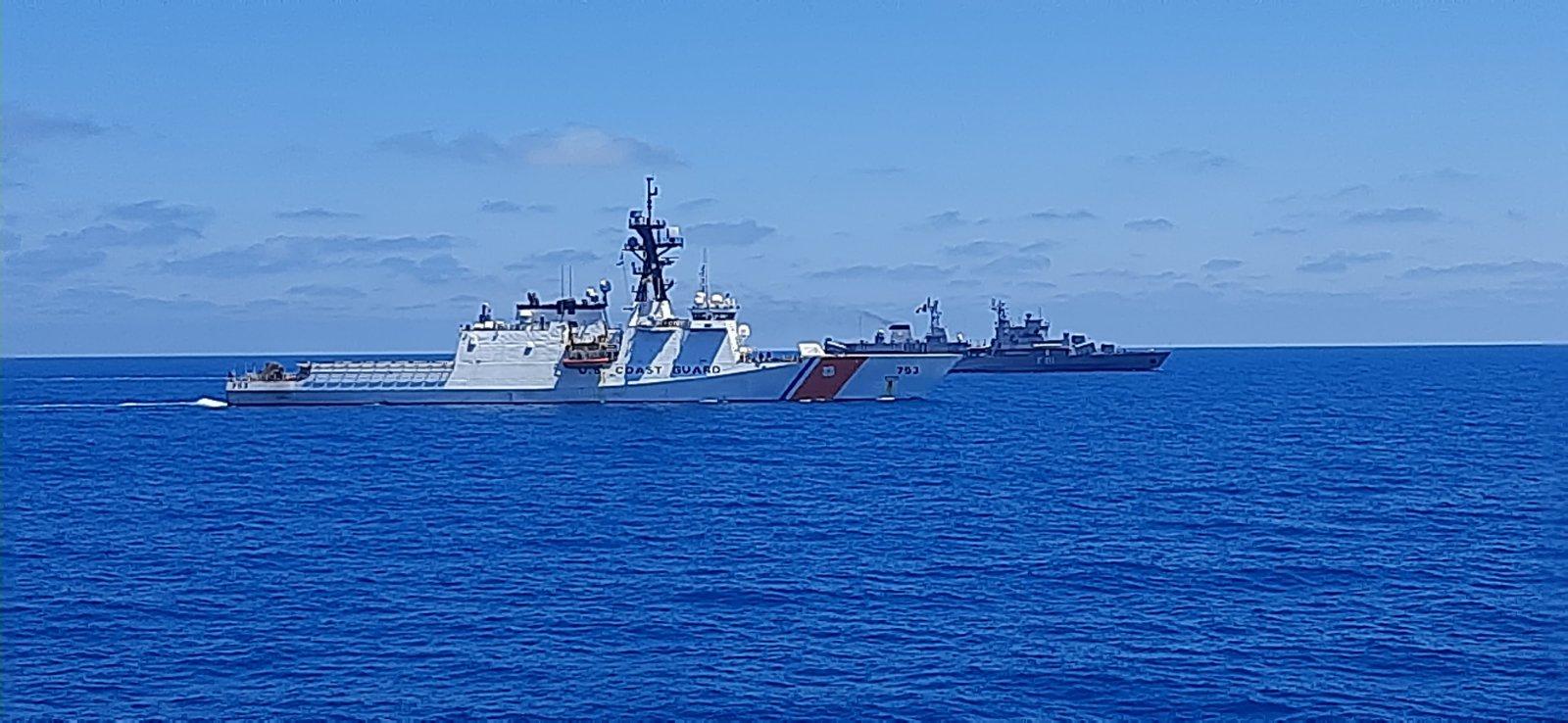 Учение PASSEX на българските и румънските ВМС с Бреговата охрана на САЩ (ГОЛЯМА ВОЕННОМОРСКА ГАЛЕРИЯ)