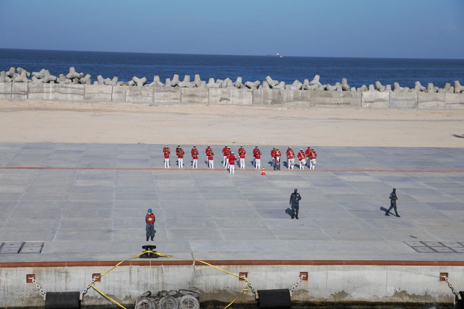 """ГАЛЕРИЯ: Фрегата 11 """"Смели"""" в операция Sea Guardian в Средиземно море и вмб Александрия (Египет)"""